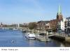 Bremen Weserpromenade Schlachte