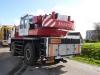Flensburg Frühjahrsmarkt Abbau 2014