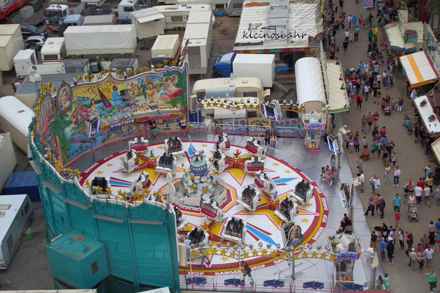 Recklinghausen Palmkirmes 2015 Jahrmarkt Nord